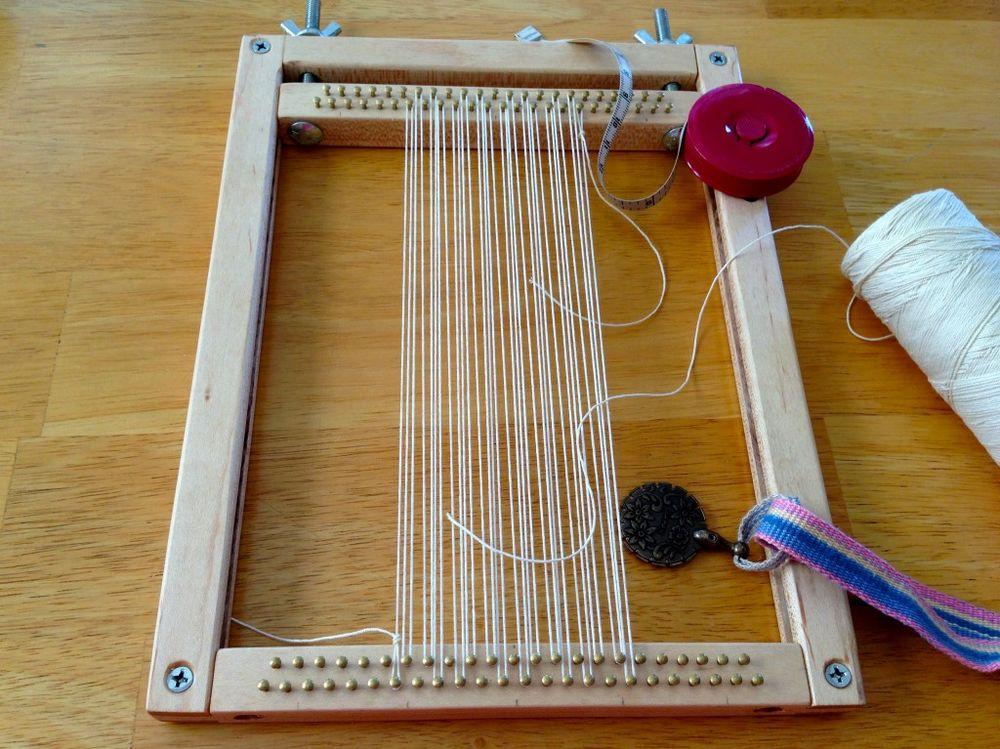 Станок для плетения ковров 38