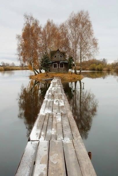 Укромные домики мира — там, где нет никого, и хорошо!