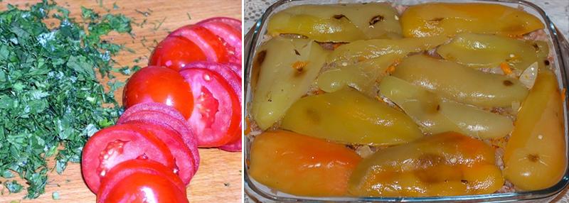 фаршированные перцы рецепт