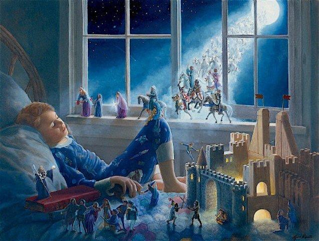 Сказочный мир художницы Lynn Lupetti