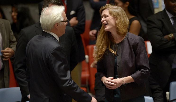 «Мой друг, российский посол»: Саманта Пауэр посвятила Чуркину статью в NYT