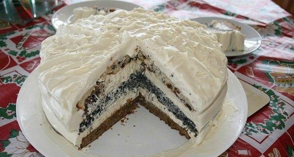 Торт «Три Встречи». Простой,…