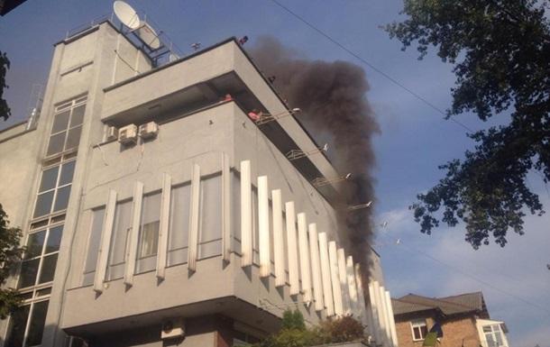 Тимошенко назвала «уничтожением Украины» поджог телеканала «Интер»