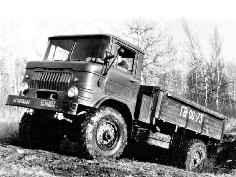 ГАЗ 66 Опытный 1958 год авто, история, факты