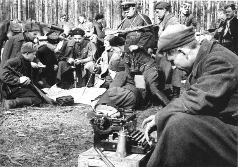 Партизанский генерал Сидор Артемьевич Ковпак