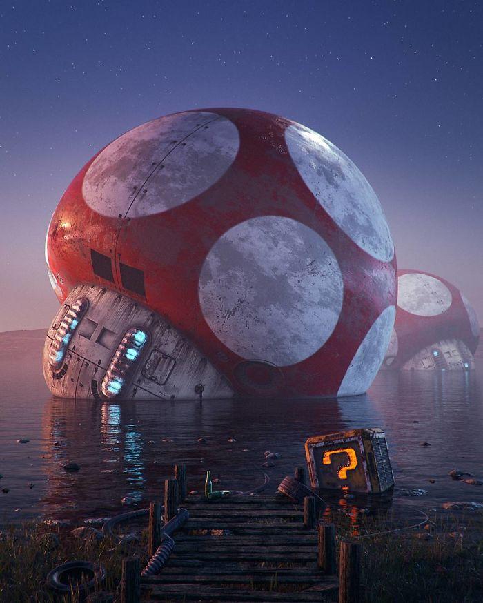The Apocalypse Of Pop Culture By Filip Hodas (10+ Pics)