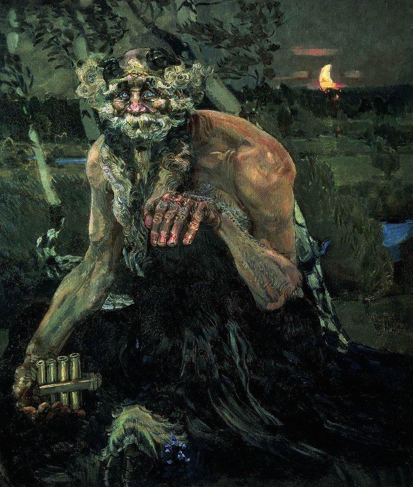 Cимволические полотна россиянина Михаила Врубеля, а также другие Russian Demonicus