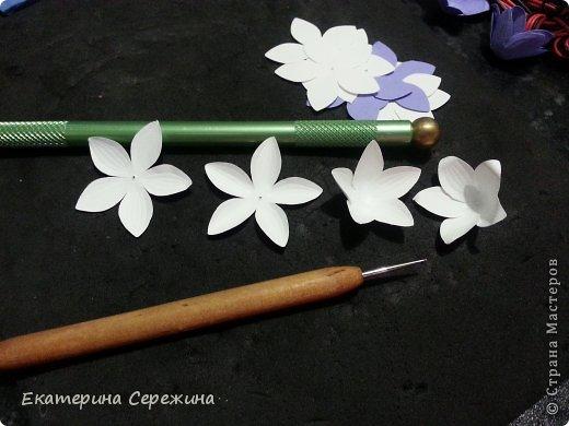 Мастер-класс Бумагопластика Колокольчик полевой  Бумага фото 3