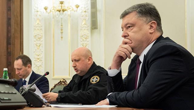 Гарант демократії тiльки один: СНБО Украины проголосовал за введение военного положения