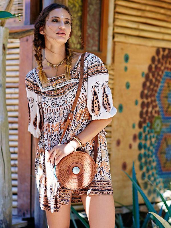 Платье-туника 2017: стильные идеи для жаркого лета