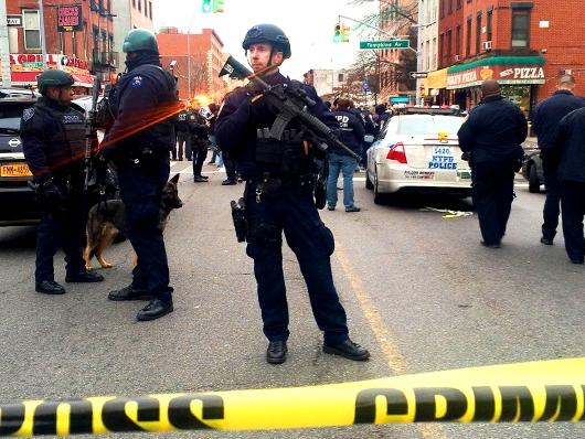 ANT-INFO.RU: В США афроамериканец застрелил двух полицейских, мстя за Фергюсон!