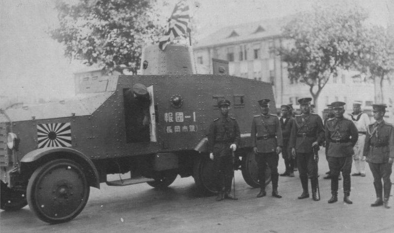 Бронеавтомобиль-бронедрезина «Тип 91» (Япония)