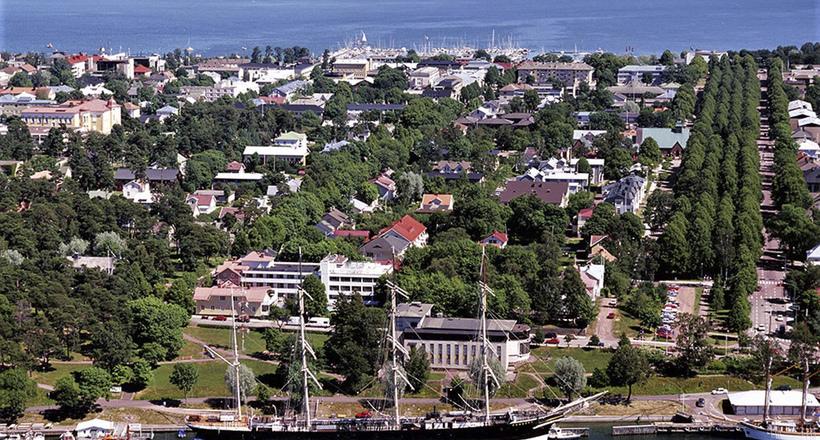 Мариехамн: финский город, ос…