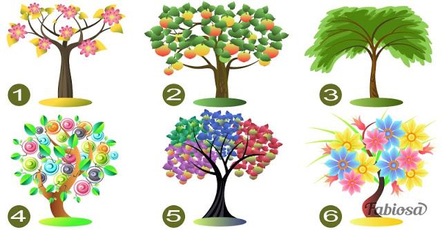 Выберите дерево, и мы расскажем, что скрывает ваша личность