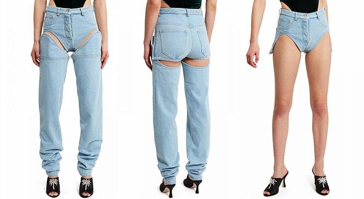 «Брюки превращаются в элегантные шорты»: мастхэв сезона – джинсы-трансформеры
