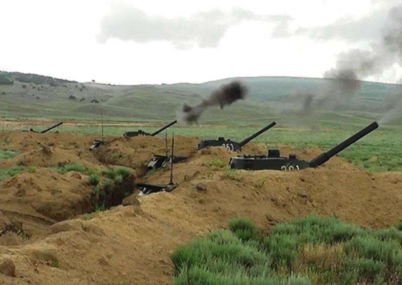 В Дагестане проводятся занятия с артиллерией морпехов