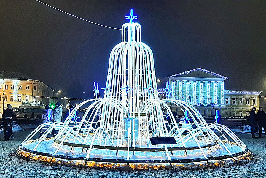 В центре Костромы