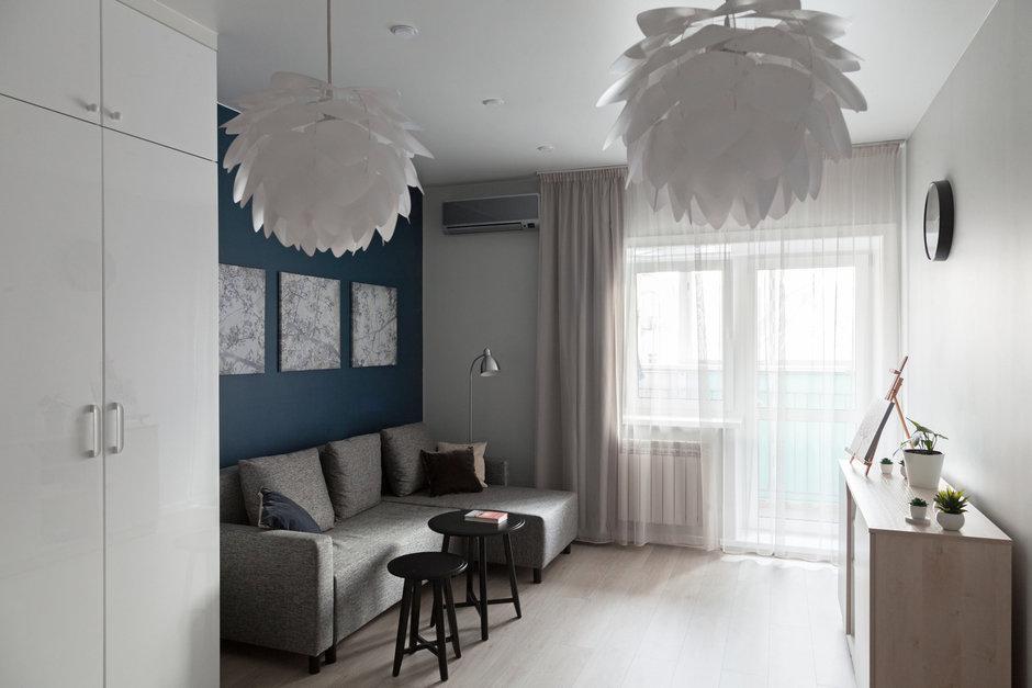Фотография: в стиле , Квартира, Проект недели, Монолитный дом, 2 комнаты, 40-60 метров, Хабаровск, Анастасия Черкашина, ЖК «Шоколад» – фото на InMyRoom.ru