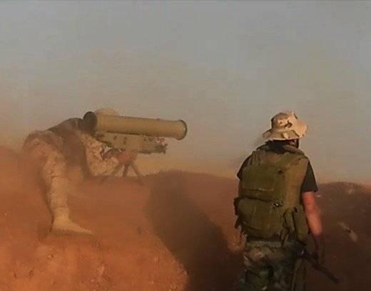 Российские «Метисы» – идеальное средство против «джихад-мобилей» в Сирии