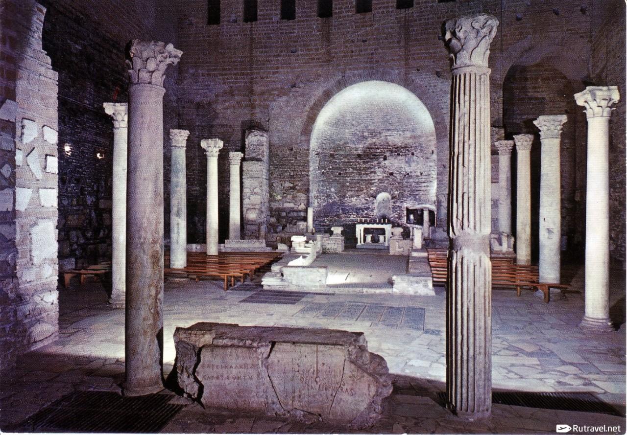 Подземное царство Рима: сокровища катакомб