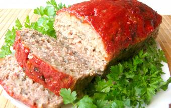 Мясной хлеб с грибами или лучшая мясная закуска — митлоф!