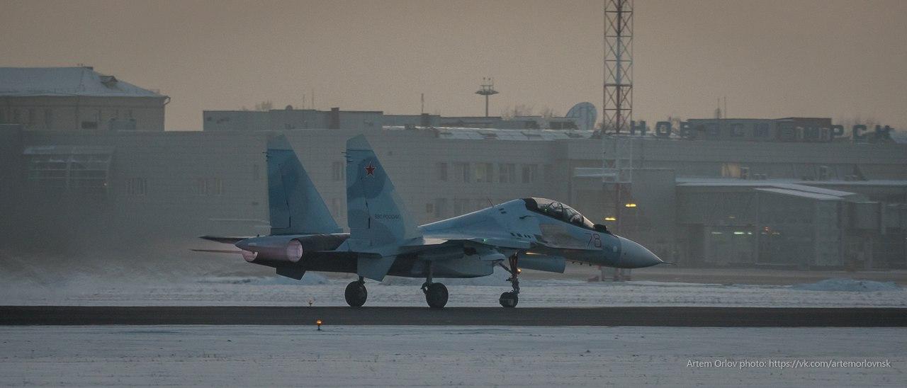 14-й гвардейский истребительный авиационный полк получил еще три истребителя Су-30СМ