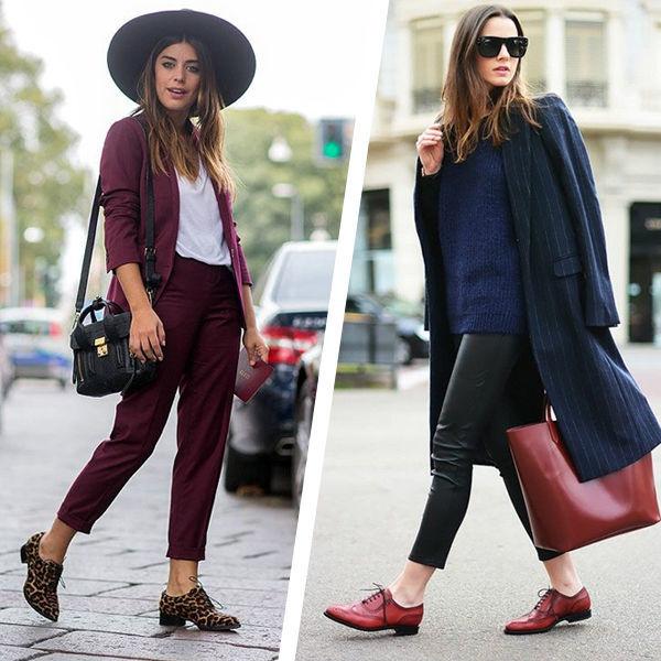 Самая модная обувь на весну: с чем сочетать оксфорды