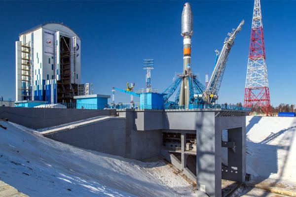 Строительство космодрома Вос…