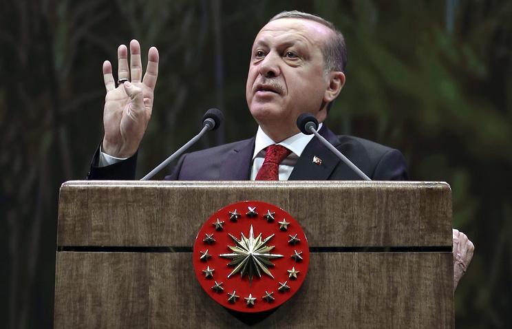 """Эрдоган ратифицировал соглашение по """"Турецкому потоку"""""""