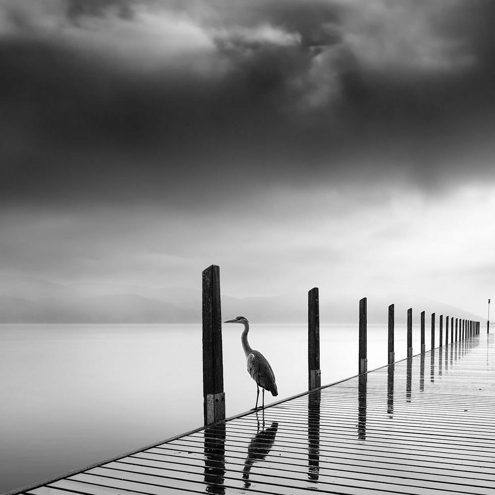 Чёрно-белые пейзажи, уходящие за пределы реальности. Фотограф Джордж Дигалакис 21