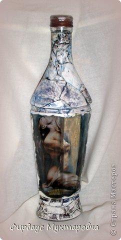 Декор предметов, Мастер-класс Декупаж: Каменные баночки. Имитация. Банки стеклянные, Бумага журнальная. Фото 20
