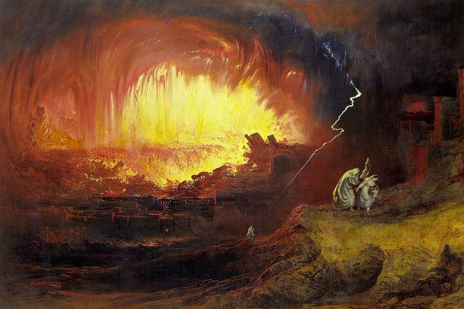 На Содом и Гоморру мог упасть метеорит