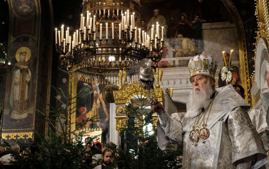 Старый маразматик Филарет объявил себя Патриархом Всея Руси