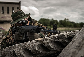 Скрытые снайперские позиции в городе