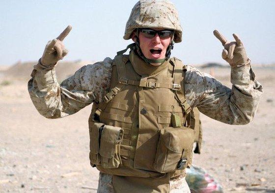 Американский солдат: Россия - это единственный и самый страшный враг