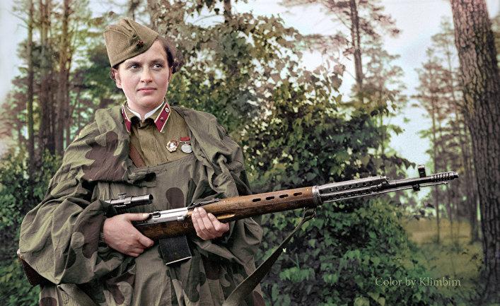 Смертоносные советские женщины-снайперы