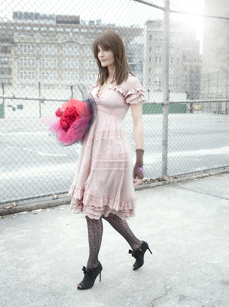 Хелена Кристенсен в рекламе бренда Odd Molly осень-зима 2009-2010