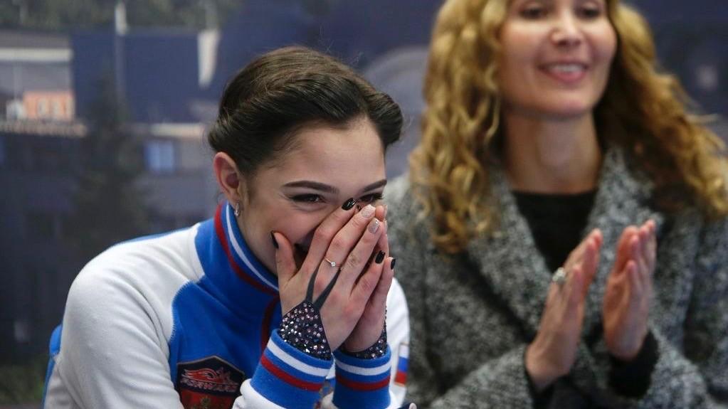 «Медведева — выдающаяся»: соперницы о мировых рекордах российской фигуристки
