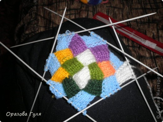 Гардероб Мастер-класс Вязание спицами Носки плетенкой мастер-класс Пряжа фото 33