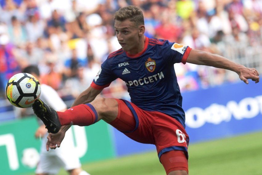 Нападающий ЦСКА Чалов признан лучшим молодым игроком года в РФПЛ