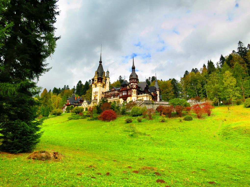 Замок Пелеш — самый красивый замок в Румынии