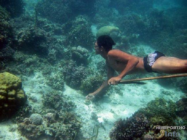 Индонезийские рыбаки хорошо …