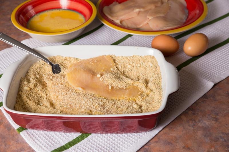 куриные отбивные в кляре в духовке рецепт