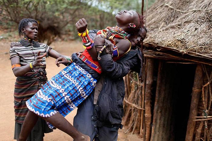 Дикие африканские девочки секс