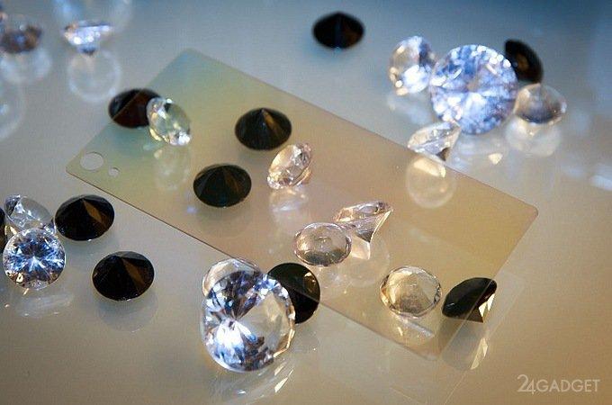 Алмазное покрытие защитит экраны смартфонов от повреждений