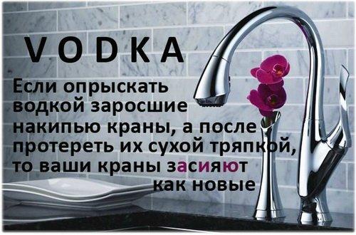 25 вариантов использования водки не по назначению.