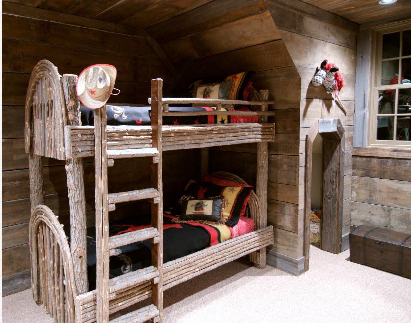 Детская комната из дерева