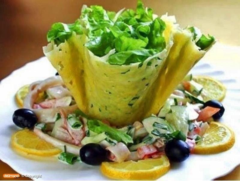 Съедобные хрустящие салатницы из пармезана!