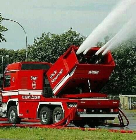 Вот такая пожарная машина.