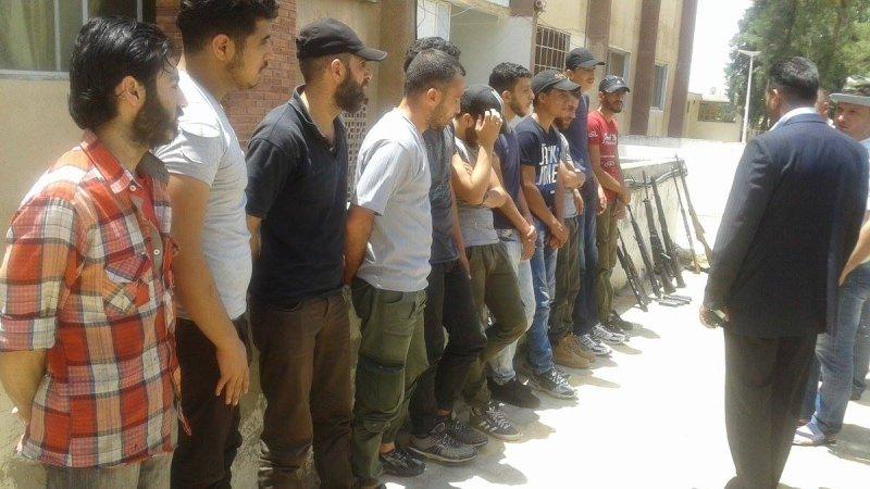 Сирия: боевики в Хомсе склад…